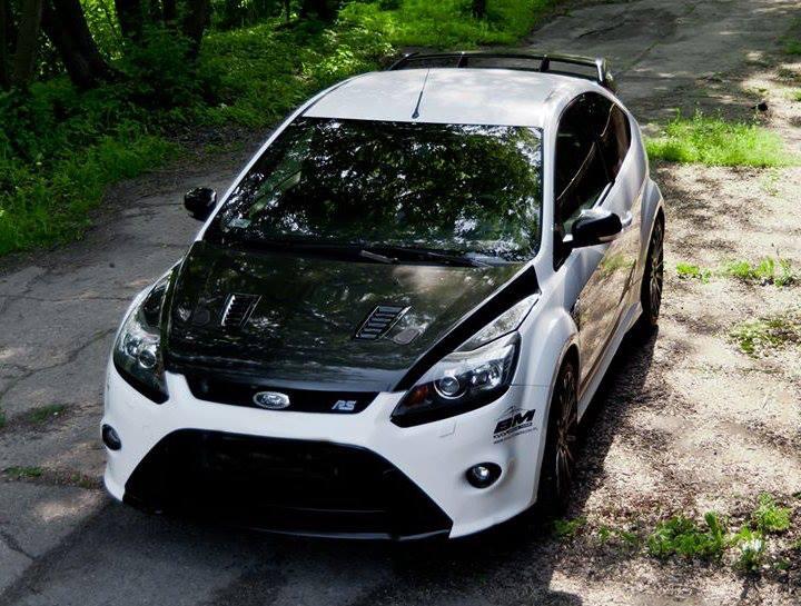 Mk2 Ford Focus Rs Carbon Bonnet Hood