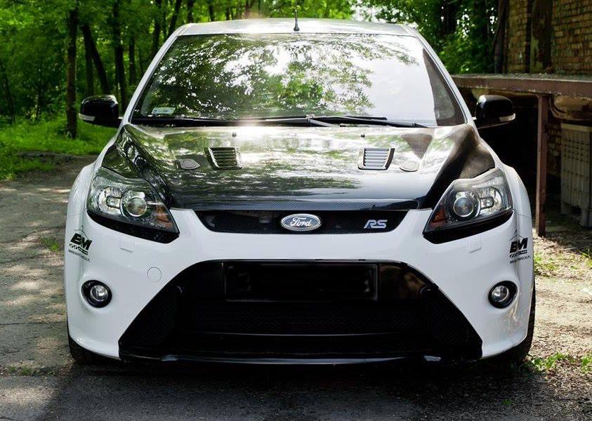 achat spécial code promo gamme exceptionnelle de styles MK2 Ford Focus RS Carbon Bonnet Hood